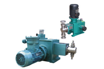 horizontal and vertical piston pump