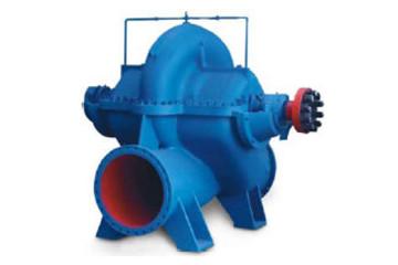 large flow split case pump