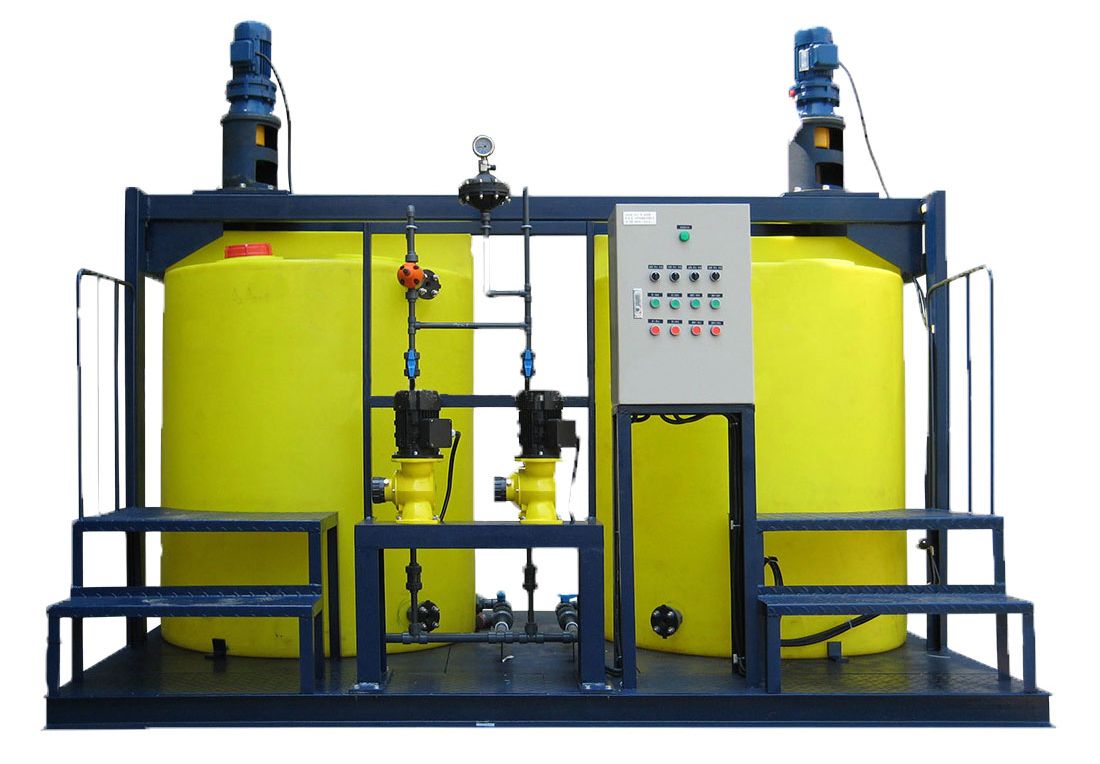 pH adjustment system waste water treatment