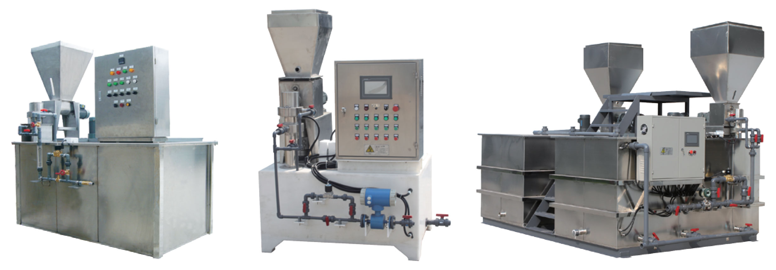 polymer preparation system in singapore